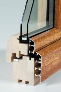Дерев'яно-алюмінієві вікна