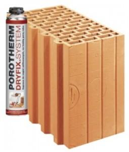 Блоки Porotherm Dryfix