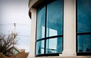 Радіусне вікно від модерн для круглих будинків